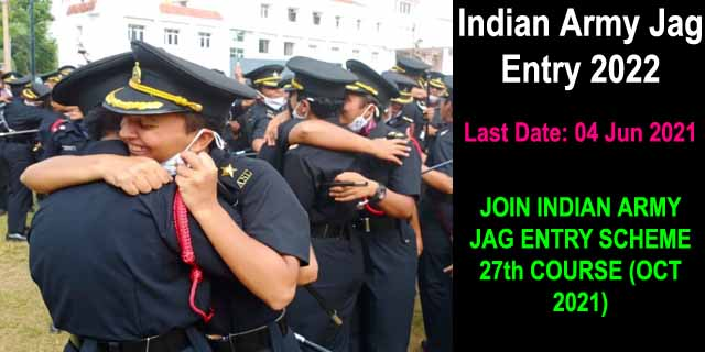 Indian Army Jag Entry 2022